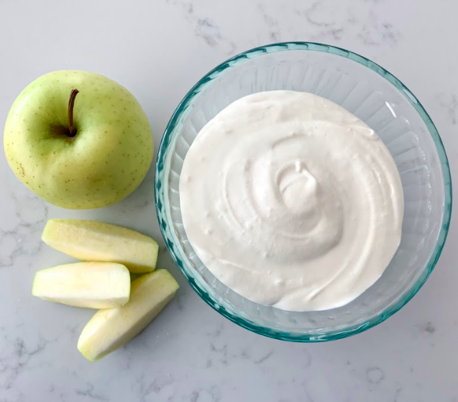 Fast and Easy Fall Apple Dip With Just 2 Simple Ingredients