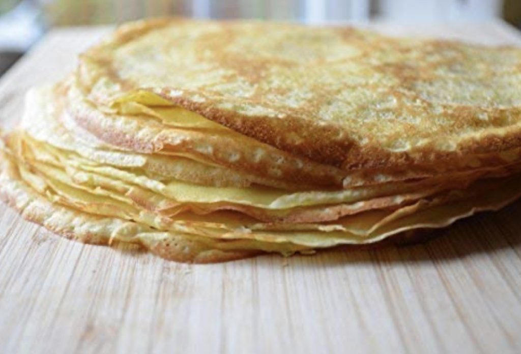 How to Make English Pancakes, a recipe featured by top Utah lifestyle blogger, Kelly Snider.