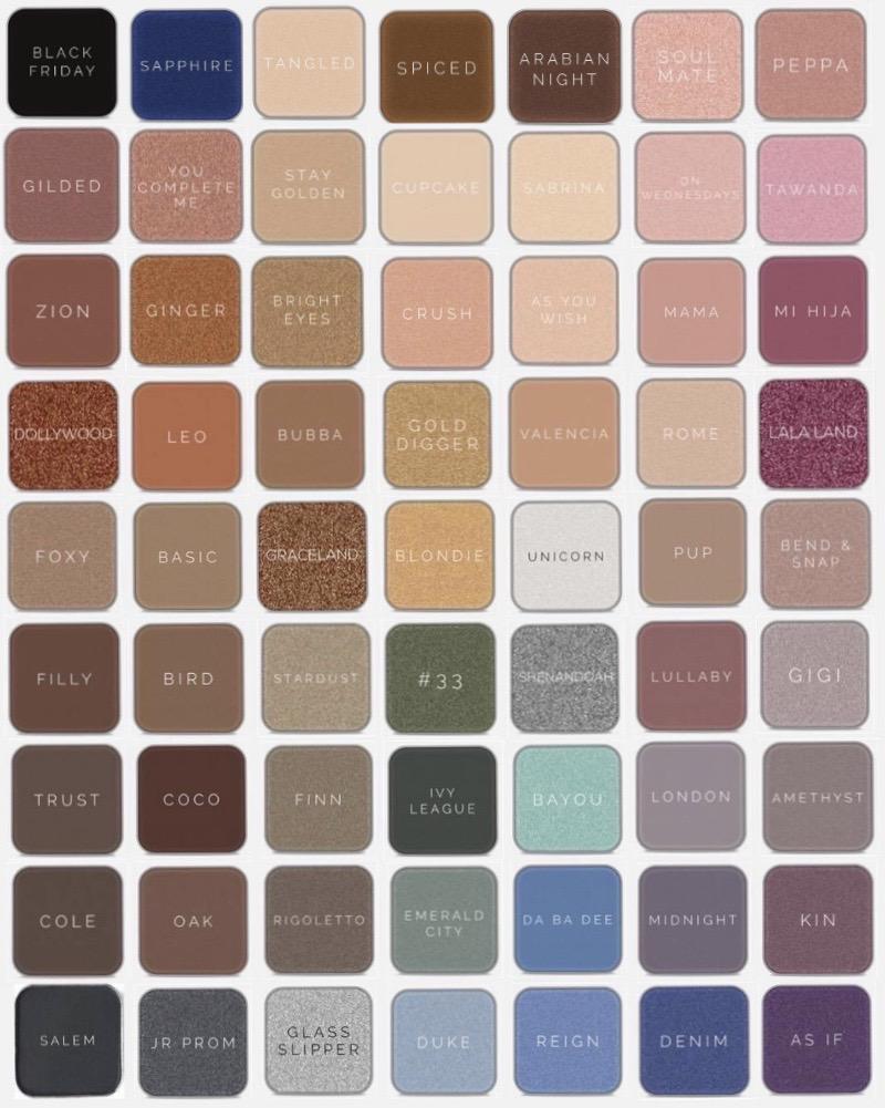 Maskcara Beauty Eyeshadows reviewed by top US beauty blogger and Maskcara Artist, Kelly Snider.