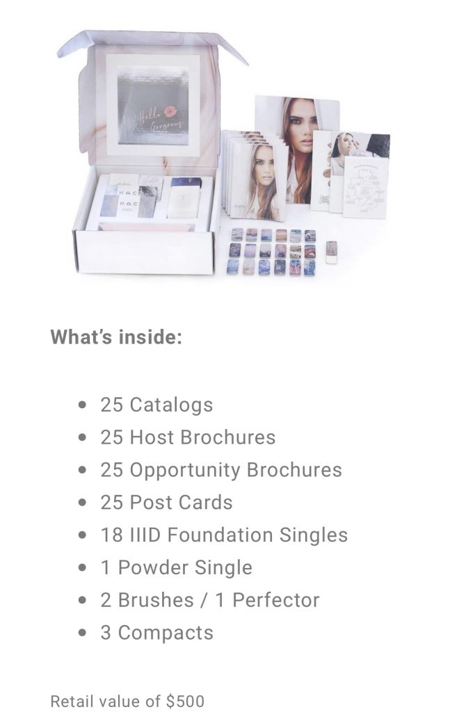 How to join the Maskcara Beauty Artist Program, info featured by top US beauty blogger and Maskcara artist, Kelly Snider: image of Basic Kit