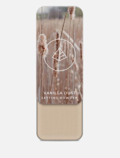 How to Set Cream Makeup by popular Utah beauty blogger, Kelly Snider: image of Maskcara Vanilla Dust setting powder.