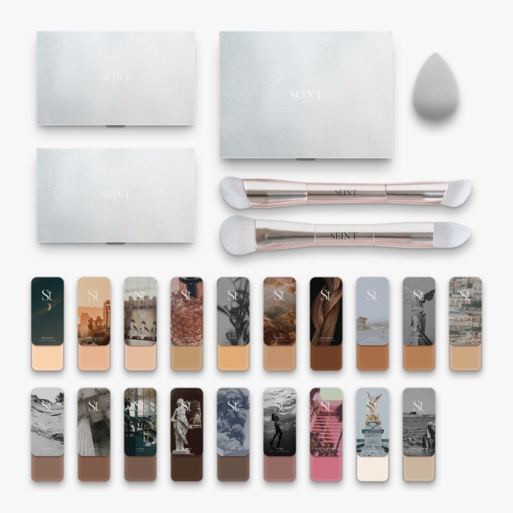 It's amazing what you get when you purchase a basic artist kit. www.kellysnider.com