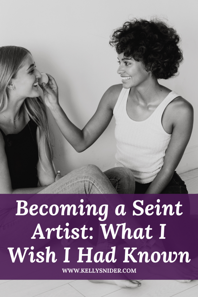 Becoming a Seint Artist: What I Wish I'd Known about this amazing company www.kellysnider.com