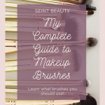 My complete guide to makeup brushes. Learn what you need to know! www.kellysnider.com