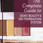 The Complete Guide to Seint Beauty's IIID foundation system www.kellysnider.com